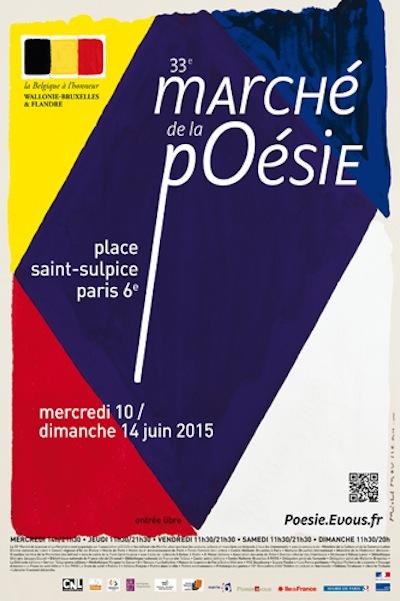 33e marché de la poésie